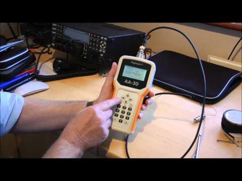 AA30 Antenna Analyser