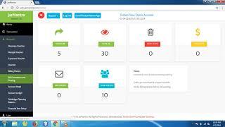 Online Water Jar Management Software