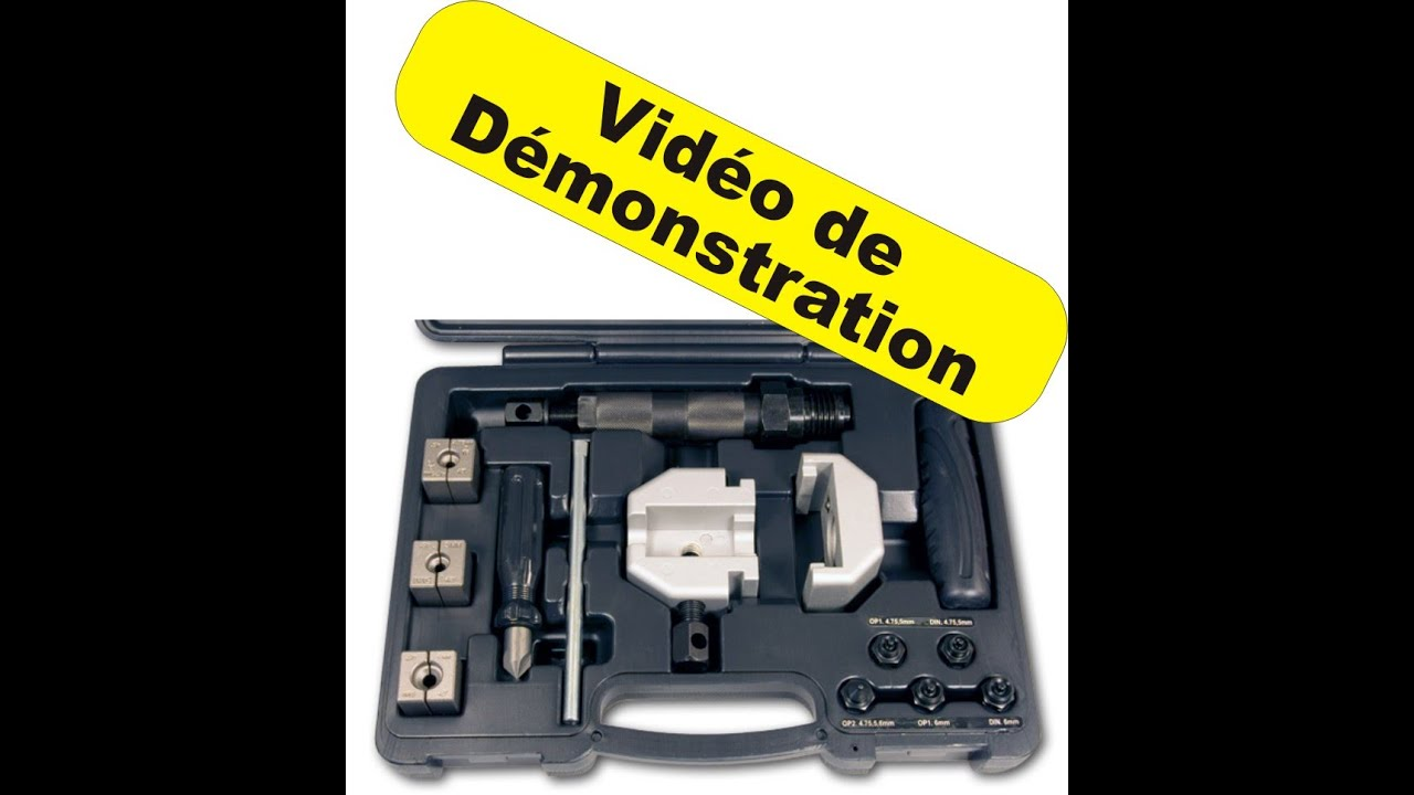 kit pour r paration tuyau hydraulique de frein youtube. Black Bedroom Furniture Sets. Home Design Ideas