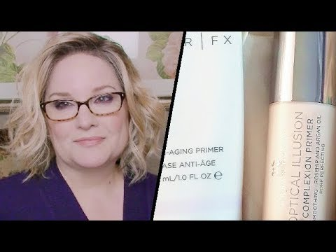 Esthetician TESTS 3 PRIMERS For Mature Skin / Silicone In Skin Care & Their Effect On Our Skin
