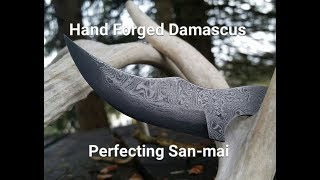 Bladesmithing 2: Perfecting hand forged damascus 2