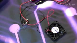 видео LM317 в качестве усилителя мощности