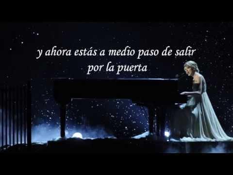 Taylor Swift - Forever & Always (piano version) - Traducida al español