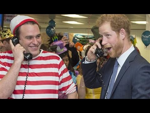 Prince Harry Becomes Trader for the Day