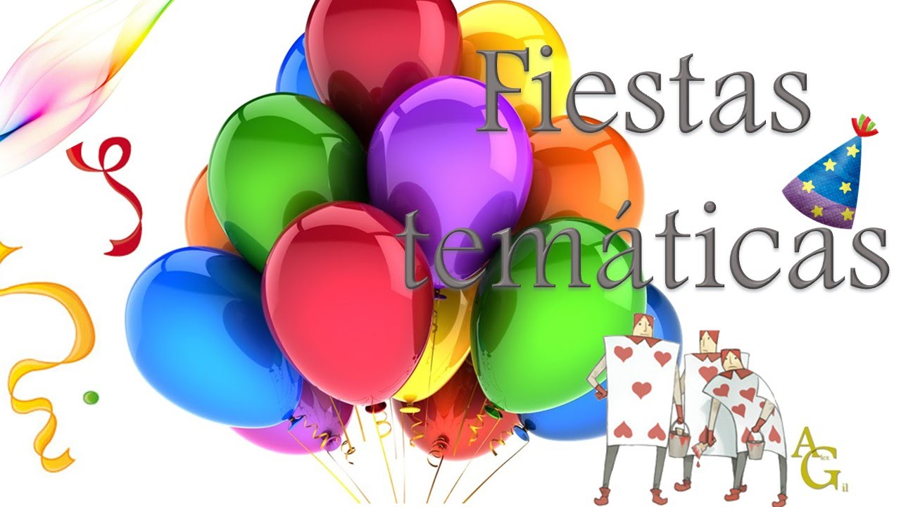 Fiestas tem ticas ideas youtube - Ideas fiestas tematicas ...