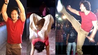 Tiger Shroff's STUNTS In Real Life In Theatre During Baaghi Show