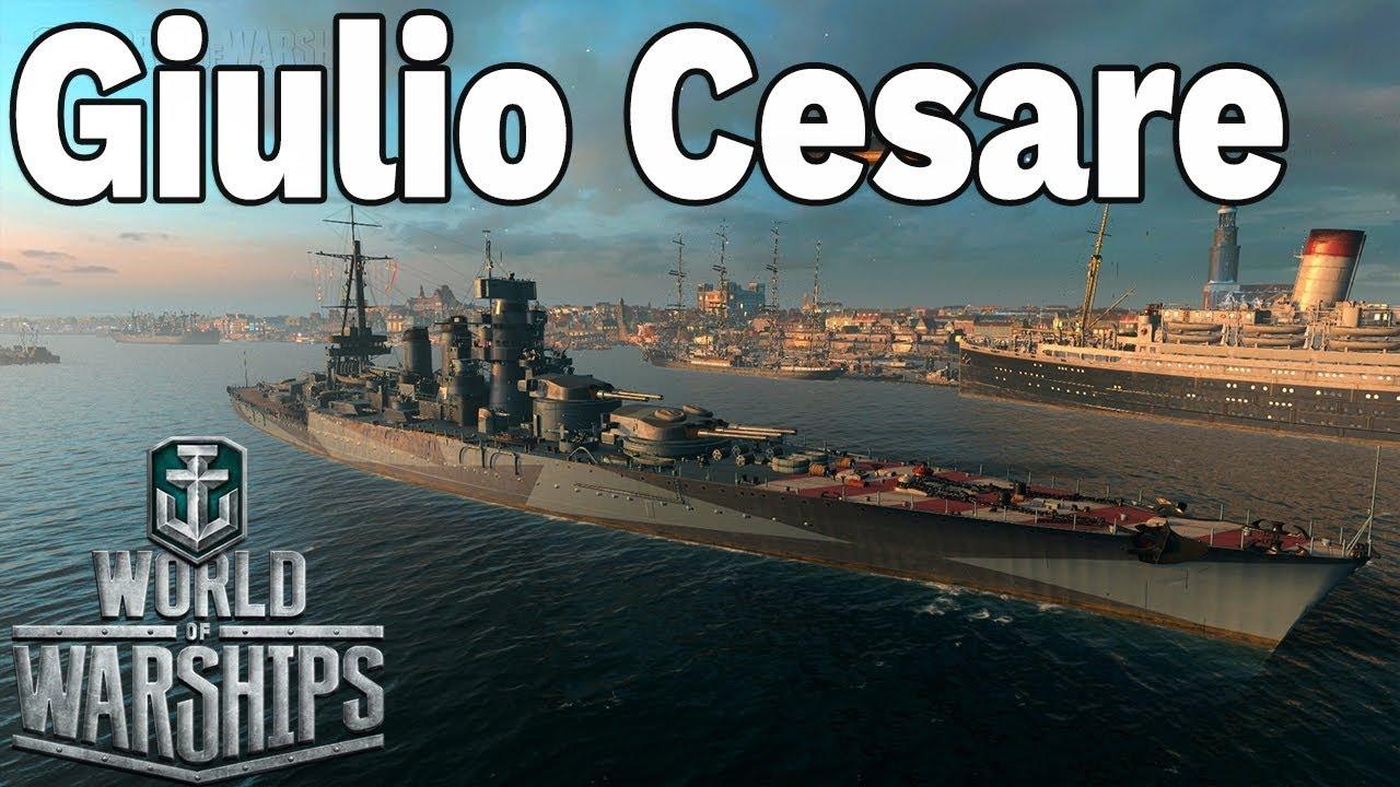 ŚWIETNE GŁOSY ZAŁOGI – Giulio Cesare – World of Warships