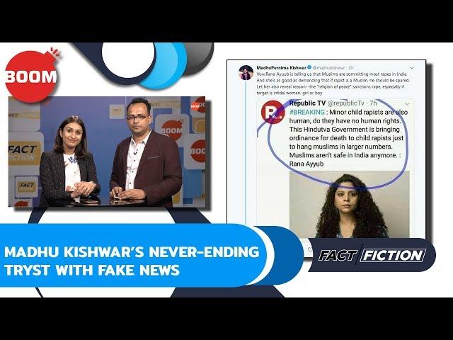 Fact Vs Fiction: Madhu Kishwar's Never-Ending Tryst With Fake News