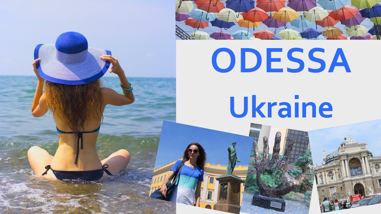 ODESSA  - a great Ukrainian city. The Black Sea. Ukraine Travel Blog