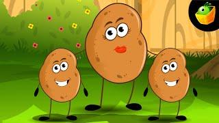 Aloo Kachaloo Kahan Gaye They - Hindi Animated/Cartoon Nursery Rhymes For Kids