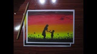Vẽ tranh với màu sáp dầu - Hái hoa tặng mẹ yêu