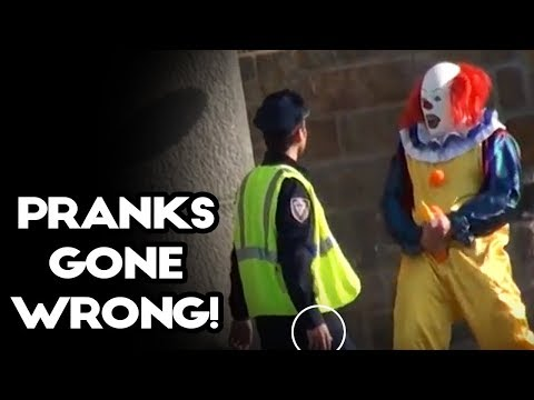 Best Clown Pranks Compilation 2018