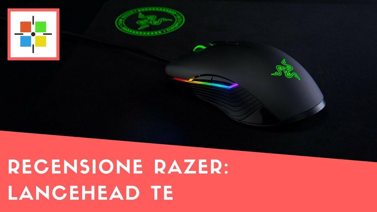 Recensione Razer Lancehead Te Youtube Blackwidow T2 2014