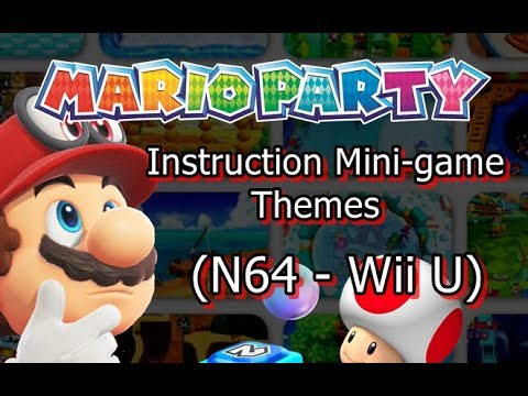 Mario Party - Instruction Minigame Themes (N64 - Wii U)