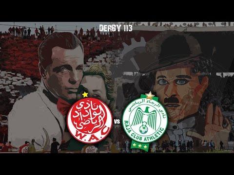 Ultras World in Casablanca - Wydad vs Raja (20.12.2015)