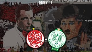 Ultras World in Casablanca - Wydad vs Raja (20.12.2015)