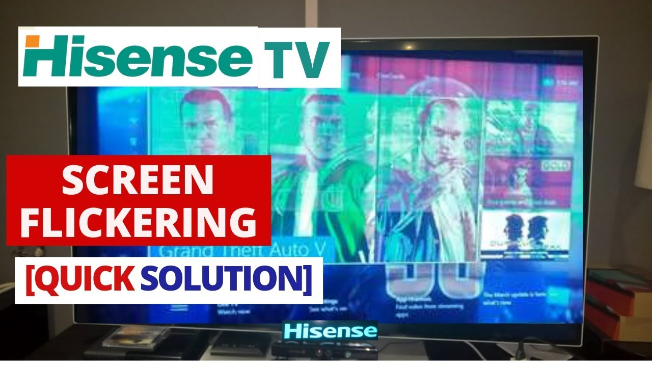 How to Fix Hisense TV Screen Flickering problem || Very Easy Method