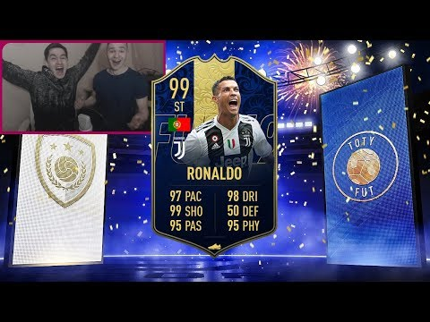 ИКОНА + ТОТИ РОНАЛДУ В ПАКЕ || TOTY RONALDO IN A PACK || ICON IN A PACK