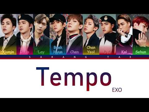 EXO (엑소) - 'Tempo' Lyrics [Color Coded_Han_Rom_Eng]