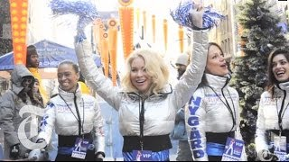 Super Bowl Fever in NYC: Game On | On the Street w/ Bill Cunningham | The New York Times