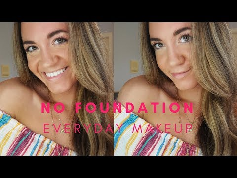 EVERYDAY MAKEUP FOR WORK & HOW TO FEEL CONFIDENT WITHOUT FOUNDATION | ALISE MARIE