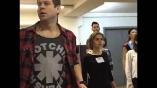 Андрей Школдыченко - репетиция
