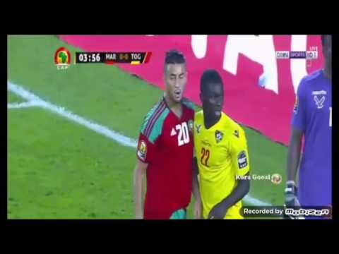 Maroc vs Togo 1-3 can 2017 all goals HD