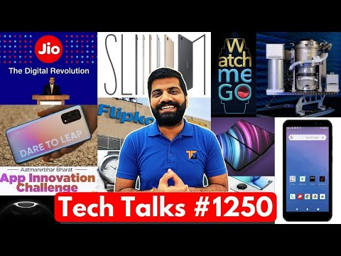 Tech Talks #1250 – 1,68,67,77,450Rs Toilet, Indian App Store, Jio 3 New Phones, iPhone 12 Price, X7