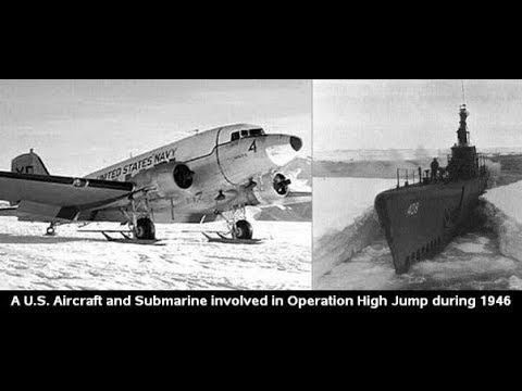 "Operation High Jump Admiral Byrd Secret in His Diary:  ""Untold UFO War Antarctica"" & ""Hollow Earth"""