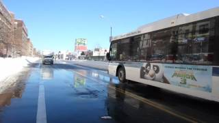 MTA New York City Bus Orion VII NG HEV 4375 on the Bx41 +Select