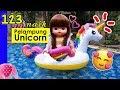 Naik Pelampung Unicorn - Mainan Boneka Eps 123 S1P14E123 GoDuplo TV