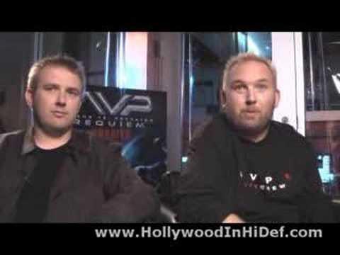 Brothers Strause Blu-ray AVPR: Alien vs Predator: Requiem