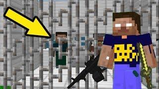 Мод на НУБ и ПРО Херобрин против САМОЙ ОПАСНОЙ ЛОВУШКИ - Троллинг НУБА в Minecraft Серия 19