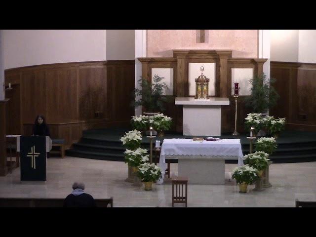 Mass - January 17-18 - 2nd Sunday of Ordinary Time