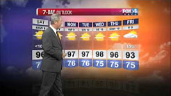 Fox 4 Beaumont seven-day weather forecast with Greg Bostwick.