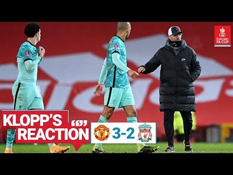 Η αντίδραση του Klopp: «Μπορούμε να πάρουμε πολλά, αλλά το αρχείο πρόκειται να τελειώσει» |  Man UTD εναντίον Λίβερπουλ
