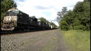 Railfanning in Greensburg, PA 8-11-15