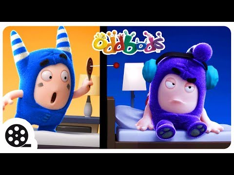 Thumbnail: Oddbods - NOISY NEIGHBOURS | Funny Cartoons For Kids | The Oddbods Show