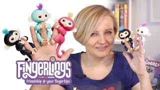 Fingerlings interaktywna małpka, WowWee