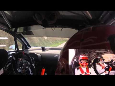 On Board Gilbert - Jamoul / Rallye du Touquet 2014 ES 11