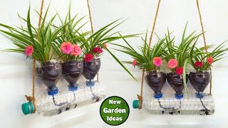 Self watering system for plants using waste plastic bottle// New Method