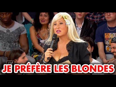 C'est mon choix : Je préfère les blondes !
