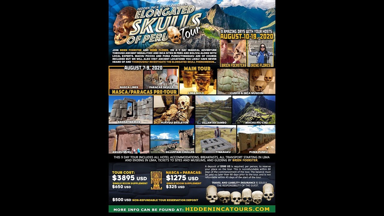 Ancient Elongated Skulls And Lost Technology Tour Of Peru And Bolivia