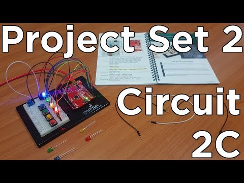 Sparkfun Inventor's Kit for Learning Arduino - DIY Simon Says Game (Circuit 2C)