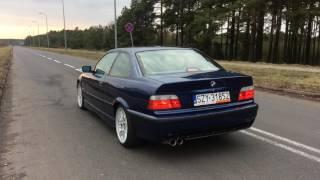 BMW E36 320i 150PS Sound Exhaust Acceleration