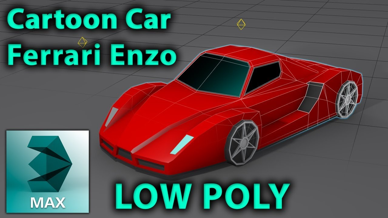 Low poly car ferrari enzo 3d modeling tutorial without blueprint low poly car ferrari enzo 3d modeling tutorial without blueprint malvernweather Image collections