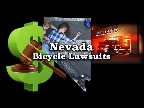 Bicyclist hit by a car...How much is my case worth? Nevada personal injury attorneys