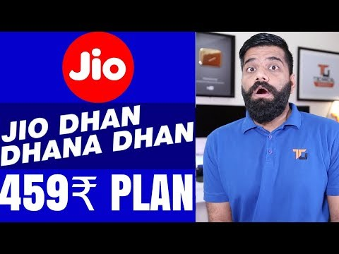 Jio Diwali Dhamaka Offer - New 459 Rs PLAN? Latest Plan Details