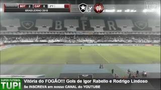 Botafogo 2 x 0 Atlético-PR - 12ª Rodada - Brasileirão - 13/06/2018 - AO VIVO
