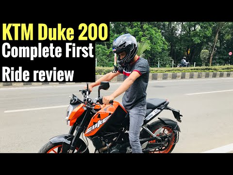 2018 KTM Duke 200 First ride review | Detailed